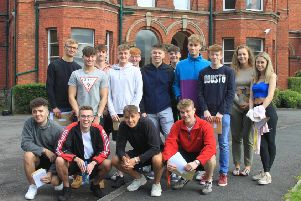 Pupils at Friends School Lisburn were delighted to receive their A Level results last week