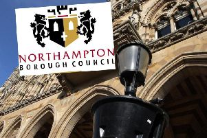 Northampton Borough Council says it is losing less shifts from staff sickness