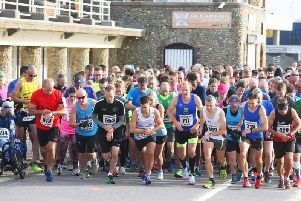 The start of the 10k