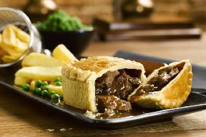 Pies are popular with Britons