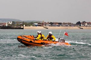 The RNLI lifeboat Ray of Hope