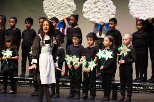 Pupils from King's House School perform the Sound of Music at the Grove Theatre. Photo by Jeremy Banks Photography
