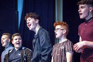 The cast of 13, all aged 11 to 15, has been invited to perform in the West End. Picture: Star Ignited Performance Academy