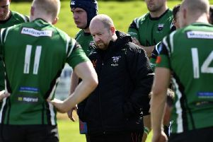 City of Derry Head Coach Paul O'Kane