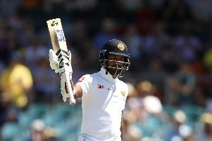 Dimuth Karunaratne. Picture: Mark Kolbe/Getty Images