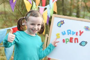 Muireann Magennis helps Employers For Childcare launch its 10th annual Northern Ireland Childcare Cost Survey. Parents who fill out the short online survey could win an overnight stay at the Galgorm Resort & Spa.