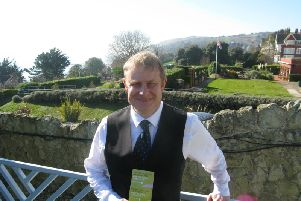 General manager Jonathan Owen at the Hydro Hotel in Eastbourne SUS-191103-160631001