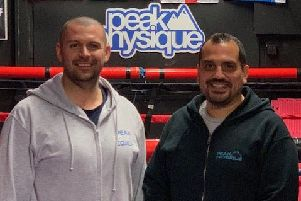 Mike Oakley and Kalvin Matharu run Peak Boxing gym in Worthing