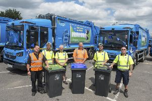 Refuse bin collections will switch from weekly to fortnightly in September