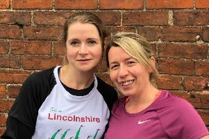 Lucy Brown and Rhea Timmins will be running the 100km Cotswold Way Challenge.
