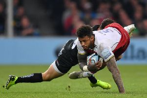 Courtney Lawes can't wait to return to Sandy Park for a semi-final this Saturday
