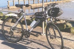 The specially adapted bike was stolen in Worthing. ''Picture: Sussex Police