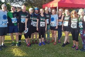 Hastings Runners at the Out of the Blue races