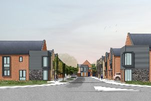 The Windroos development is being built on Worthing Road in Littlehampton