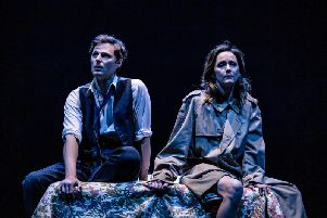 Rupert Young and Rachael Stirling in PLENTY. Photo - The Other Richard