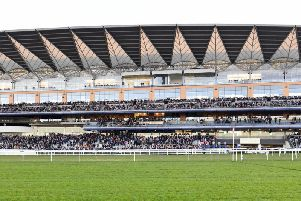 The grand surroundings of Ascot / Picture by Malcolm Wells