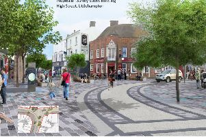 Proposed regeneration of Littlehampton's high street
