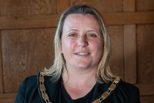 The mayor of Littlehampton, Tracey Baker. Picture: Scott Ramsey SUS-190522-112535001