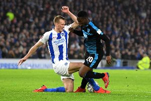 Dan Burn made three FA Cup appearances for Brighton last season (getty)