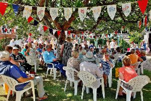 The show was once again held in the beautiful gardens and barn of Pigeon House, by kind permission of Peter and Martina Blake