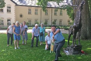 Celebrating Walberton Cricket Club's 150th anniversary at Walberton Place Care Home