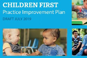 West Sussex County Council's draft improvement plan 'Children First'