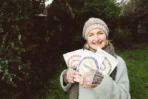 Jacqueline Barleycorn who founded The Great British Porridge Co. is hoping to get an investment on Dragons' Den. Photo: Ruby-Roux Photography.