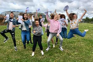 The Littlehampton Academy A-level results day