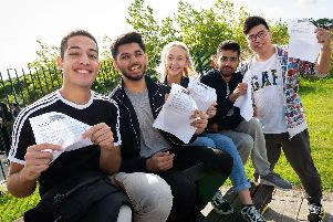 Students were thrilled with their results