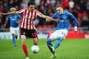 Pompey are set to lock horns with Sunderland once again. Picture: Joe Pepler