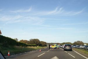 The accident on the A27