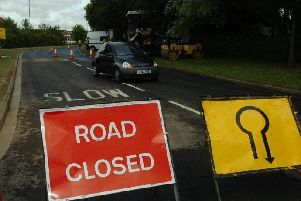 Highways has stressed that roads are closed for safety reasons
