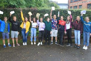Pupils at Friends' School Lisburn were thrilled with their recent GCSE results