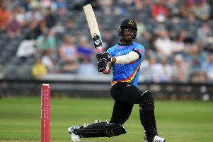 Delray Rawlins has impressed in this season's Vitality Blast / Picture: Getty Images