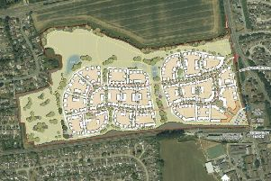 The masterplan for the site in Goring. Picture: Persimmon Homes