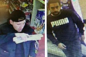 Do you know these men? Police would like to speak to them.