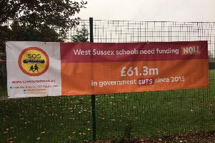 Save our Schools West Sussex banner
