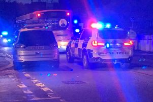 A young boy has been taken to hospital following the collision