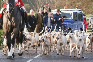 Hursley Hambledon Hunt Happens every year, biggest boxing day hunt. Pictured here on Boxing Day in 2016. Photography by Habibur Rahman