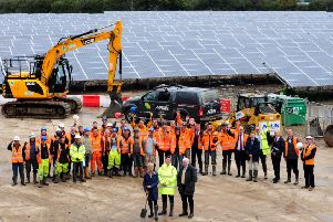 The first county council-owned solar farm was switched on in 2015 in Tangmere