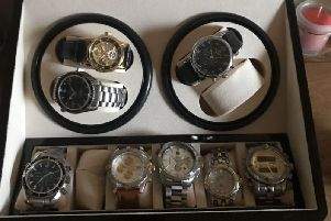 Has someone tried to sell you these watches? Picture: Sussex Police