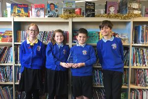 River Beach Primary School pupils who read more than a million words in a year become Reading Millionaires