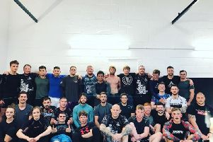 The team after a particularly sweaty session- image courtesy of Jack Magee