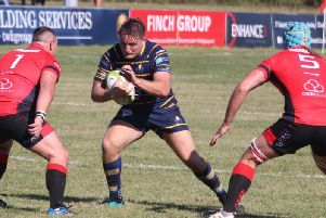 Henry Birch grabbed a try in Worthing Raiders' defeat at Tonbridge Juddians