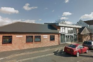 The New Pond Row Surgery in South Street, Lancing, was closed today. Picture: Google