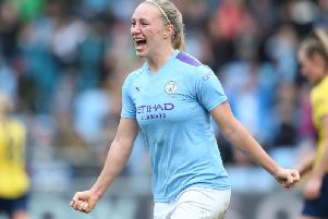 Manchester City's Pauline Bremer. Picture courtesy of Getty Images