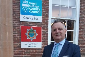 Paul Marshall, leader of West Sussex County Council