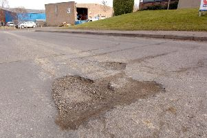 Warwickshire County Council has 5 million of government funding to repair potholes.