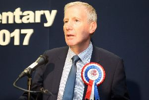 Gregory Campbell MP. Photo by Freddie Parkinson / Press Eye.