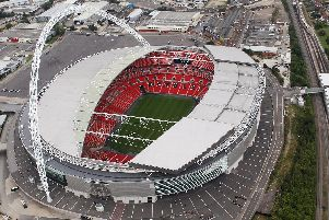 Wembley Stadium. Picture by Getty Images